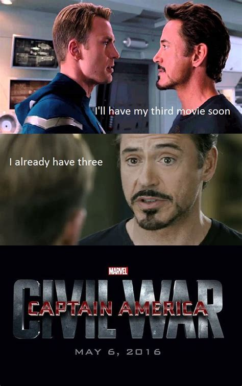 Team Black Guys Meme - iron man captain america in a burn marathon shots fired just love and iron man
