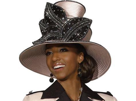 Elegant Top Selling Ladies Church Hat In Rose Color By