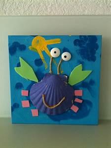 Loisirs Créatifs Enfants : bricolage crabe avec coquillage a r t bricolage enfant ~ Melissatoandfro.com Idées de Décoration