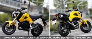 Moto 50cc Occasion Le Bon Coin : 125 essai honda msx 125 la rel ve du dax ~ Medecine-chirurgie-esthetiques.com Avis de Voitures