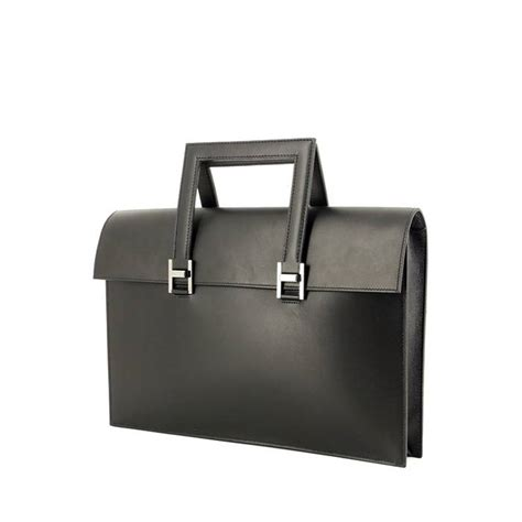 porte document hermes 242223 collector square