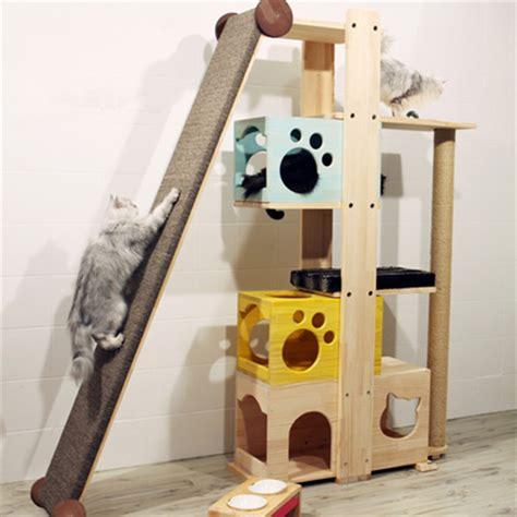arbre a chat moderne coup de coeur pour ces arbres 224 chat qui donnent terriblement envie d 234 tre un chat insolite