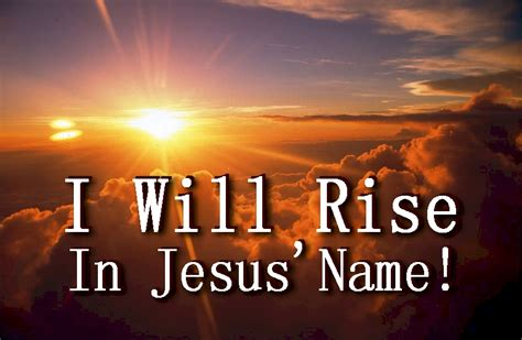 Easter Sermon I Will Rise With Free Powerpoint Sermon