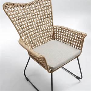 Fauteuil En Rotin : fauteuil en rotin id es de d coration int rieure french decor ~ Teatrodelosmanantiales.com Idées de Décoration