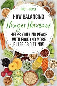 How Balancing Hunger Hormones Can Help You Find Peace With Food