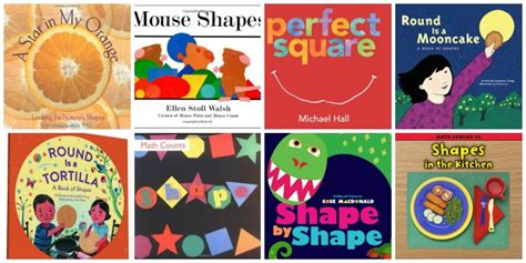 math picture books for preschool 508 | everyday shapes Preschool Math Books 9