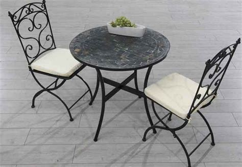 table de jardin ronde en fer forge table fer forg 233 jardin ext 233 rieur table de lit