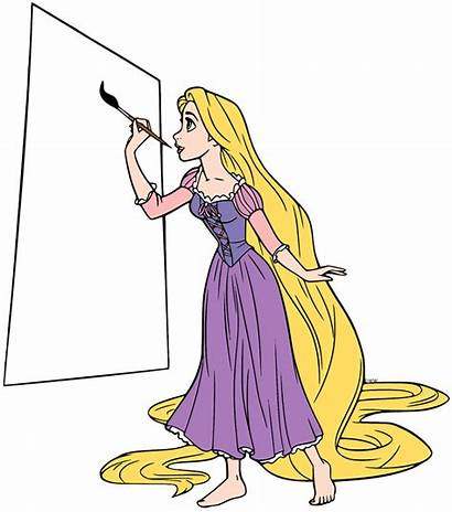 Rapunzel Disney Tangled Clip Disneyclips Painting