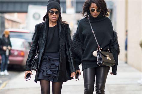 black black black   spring street style
