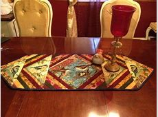 Quilt As You go Table Runner Done