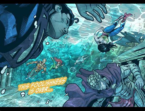extraordinary world  animeunderwater injustice comic