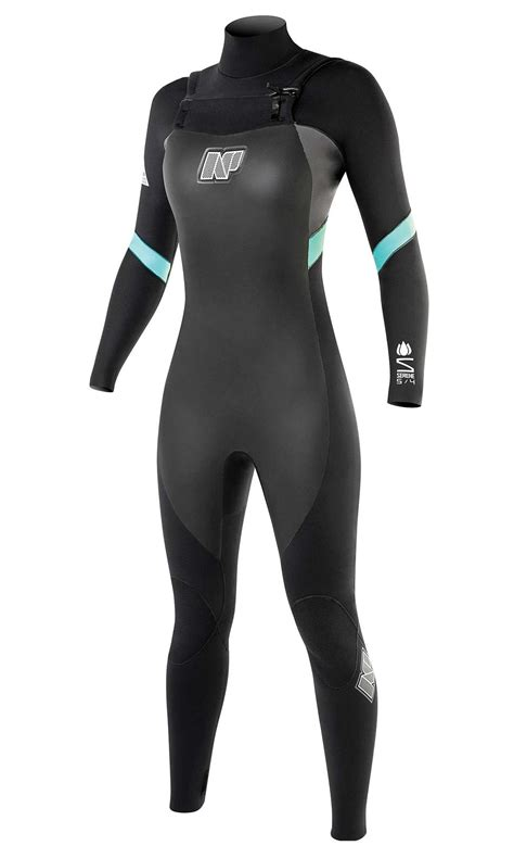 NP Womens Serene 5/4/3 FZ Wetsuit 2015   King of Watersports