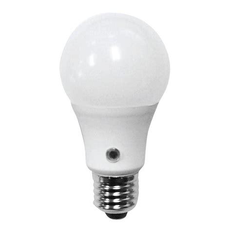 led light daylight feit electric 60w equivalent daylight a19 dusk till dawn