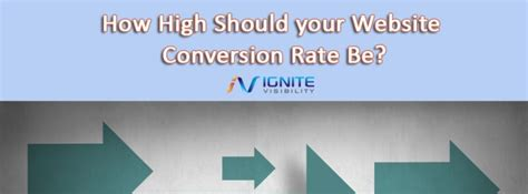 How High Should Your Website Conversion Rate Be?