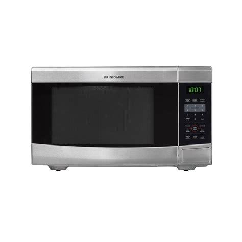 stainless steel countertop microwave shop frigidaire 1 1 cu ft 1 100 watt countertop microwave