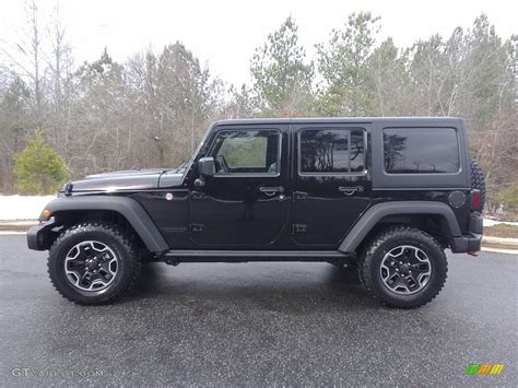 jeep black 2017 2017 black jeep wrangler unlimited rubicon hard rock 4x4