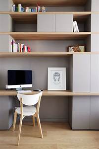 les 25 meilleures idees concernant bureaux sur pinterest With peinture d une maison 6 amenager un coin bureau dans un studio un appartement ou