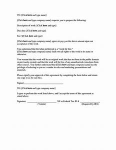 sample work for hire agreement template sampletemplatess With sample work for hire agreement template