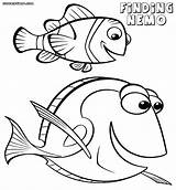 Nemo Dory Coloring Finding Pages Colouring Printable Disney Marlin Outline Template Clipart Sheets Drawing Jawar Cartoon Clip Awesome Getcolorings Library sketch template