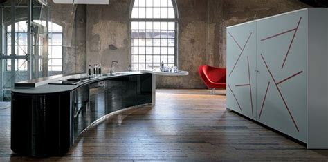Dramatic Kitchen Interior Design By Alessi  Rustic And