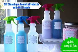 diy cleaning supplies yesterday on tuesday With diy product labels