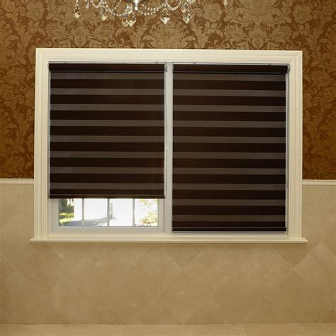 Blackout Window Shades by Best Home Fashion Pemium Blackout Duo Roller