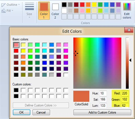 28 color matching in microsoft paint sportprojections