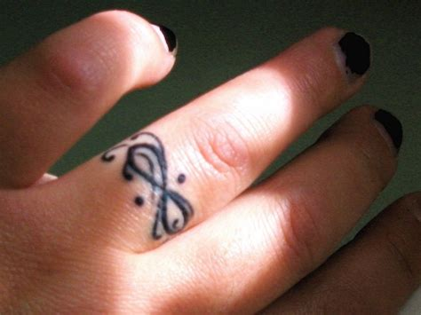 infinity tattoo  finger designs ideas  meaning