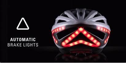 Lumos Helmet Lights Bike Brake Turn Signals