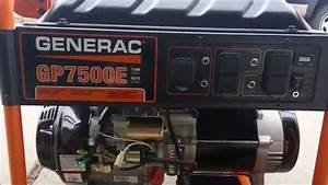 Generac Gp7500e Consumer Review