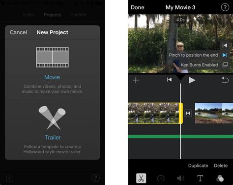 edit on iphone apple imovie for iphone review rating pcmag