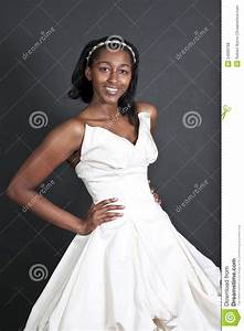 black woman in wedding dress stock photo image 24000768 With black people wedding dresses