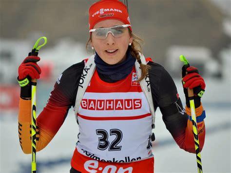 """Franziska preuß (born 11 march 1994) is a german biathlete. Biathlon-Sportlerinnen — Franziska """"Franzi"""" Preuß ..."""