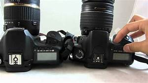 Canon Eos 20d Vs Canon Eos 40d Dslr Camera Comparison