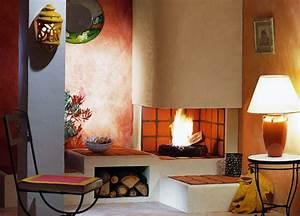 Repeindre Une Cheminée : cheminee beton tout savoir sur la chemin e en b ton ~ Voncanada.com Idées de Décoration