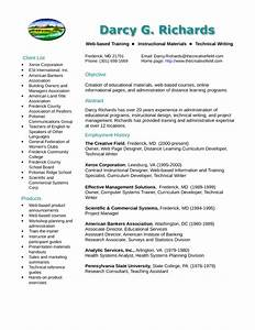 clean training specialist resume example template With it specialist cv template