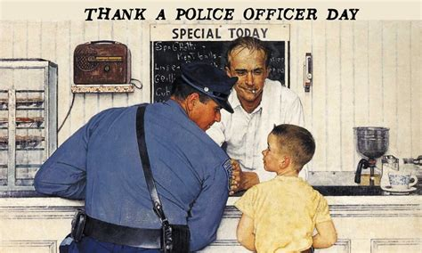 police officer day printable calendar templates