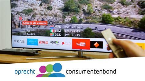samsung qeqf televisie review consumentenbond youtube