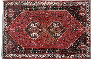 tapis ancien persan shiraz 164x210 cm tapis d39orient With tapis anciens d occasion