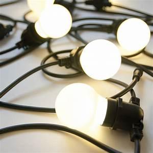 Guirlande Lumineuse Led Exterieur : guirlande lumineuse bella vista led pour l 39 ext rieur ~ Melissatoandfro.com Idées de Décoration