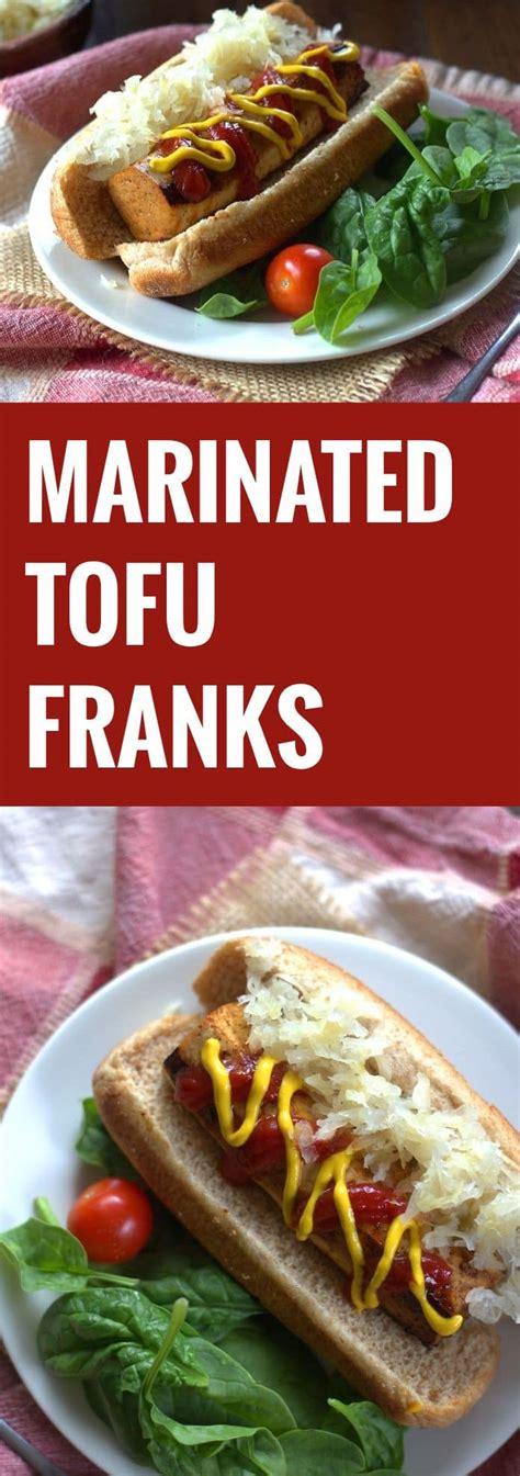 marinated tofu franks connoisseurus veg