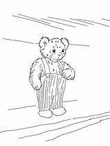 Coloring Corduroy Clipart Popular Clip Library sketch template