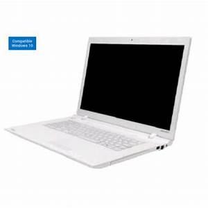 Ordinateur Portable Toshiba Blanc : pc portable toshiba satellite c55 c 1f0 15 6 blanc ordinateur portable achat prix fnac ~ Melissatoandfro.com Idées de Décoration