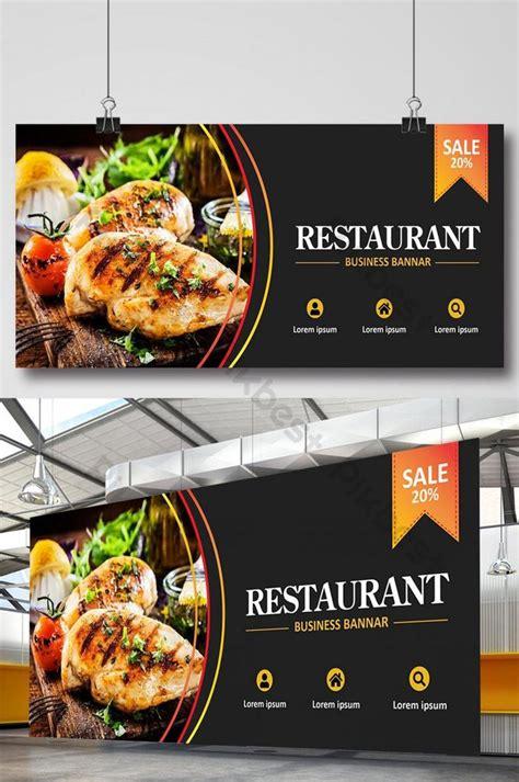 restaurant banner design template ai   pikbest