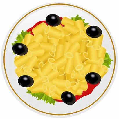 Pasta Plate Clipart Clip Transparent Fast Dish