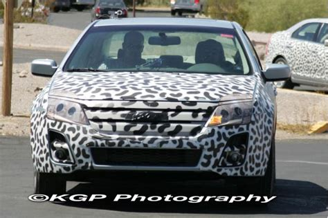 spy shots  ford fusion
