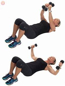 How to do chest fly for Chest flys on floor