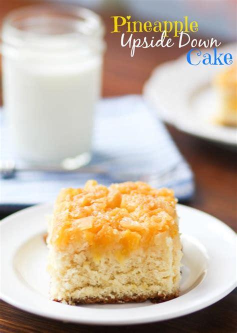 pineapple upside  cake  favorite homemade recipe