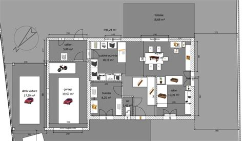 plan maison a etage 3 chambres plan maison 3 chambres etage maison quart tournant