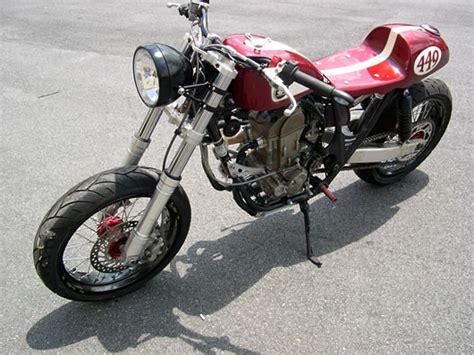 cbr cafe racer kits convert honda crfr dirt bike